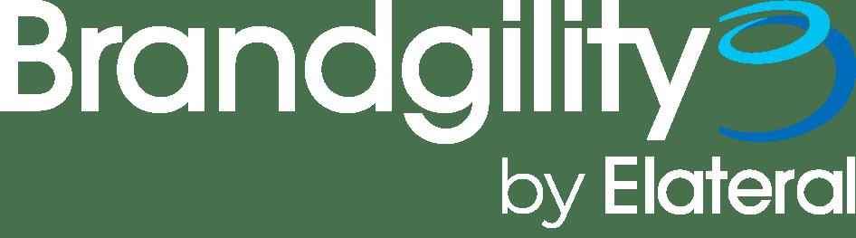 Brandgility by Elateral Logo White
