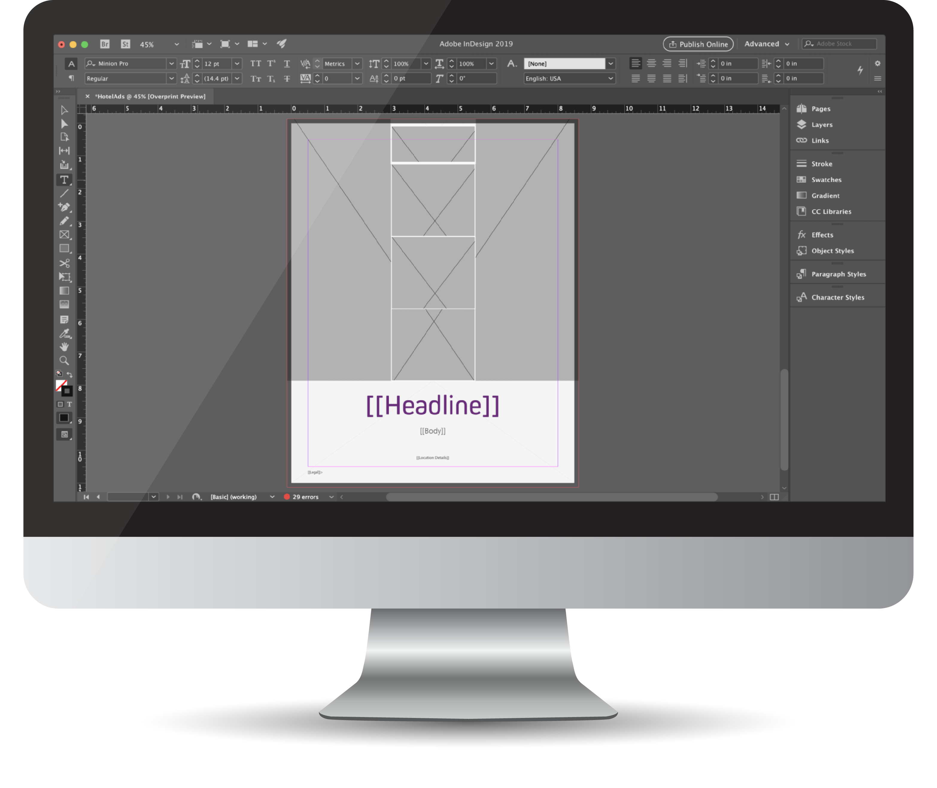 Templating with Adobe InDesign